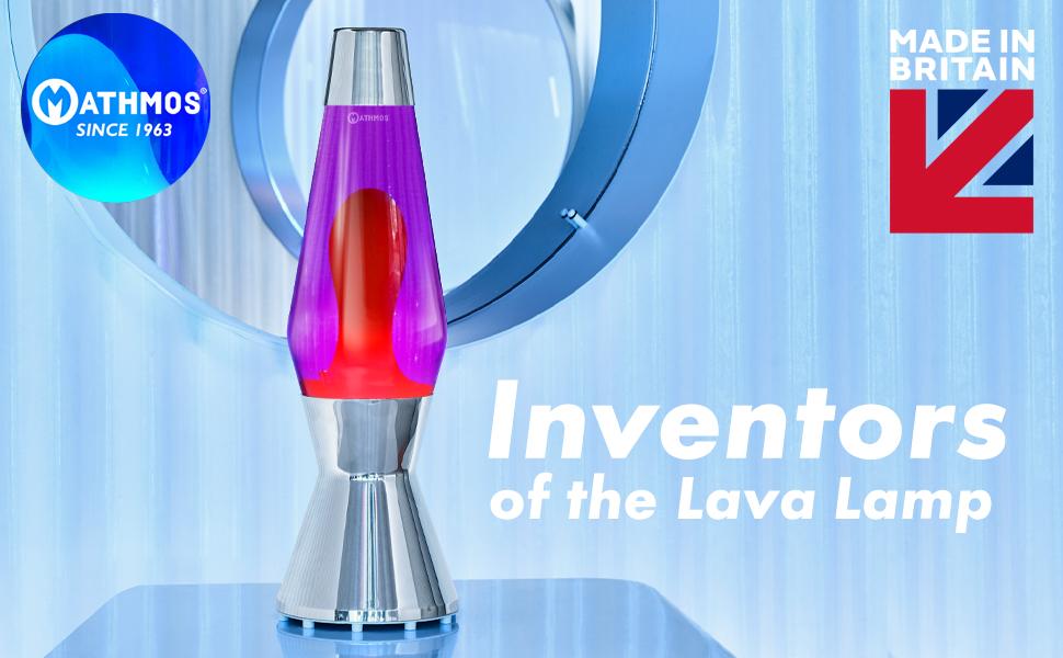 Mathmos lava lamps! Proud to say I