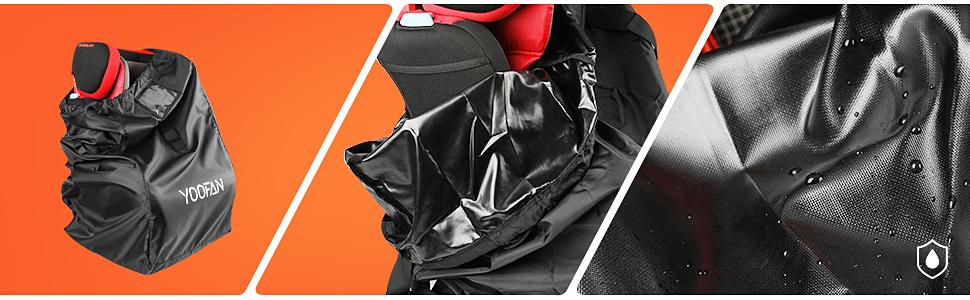 YOOFAN Car Seat Padded Travel Bag