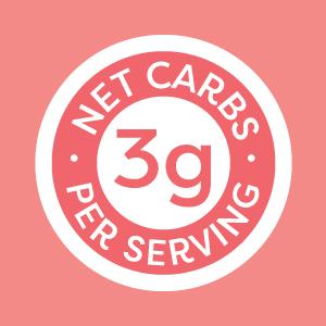 3g Net Carbs