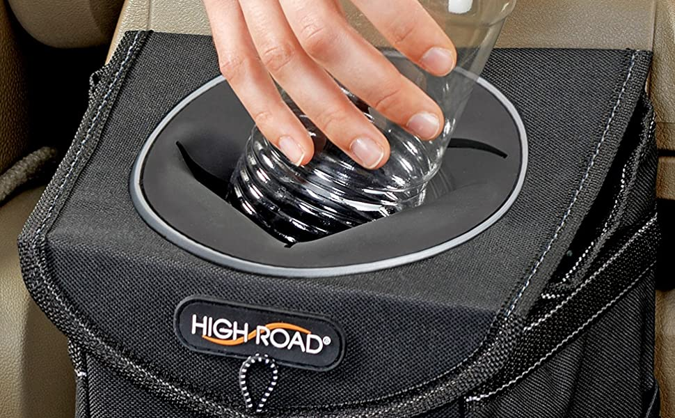 stashaway car trash can from high road car organizers