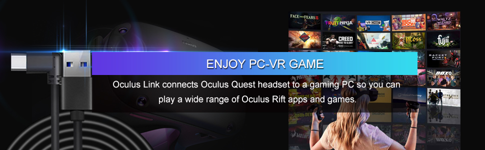 play Oculus Rift and steam games