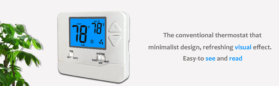 1H 1C thermostat