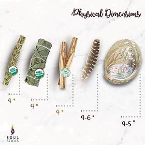 Sage Bundle /& Palo Santo Earrings