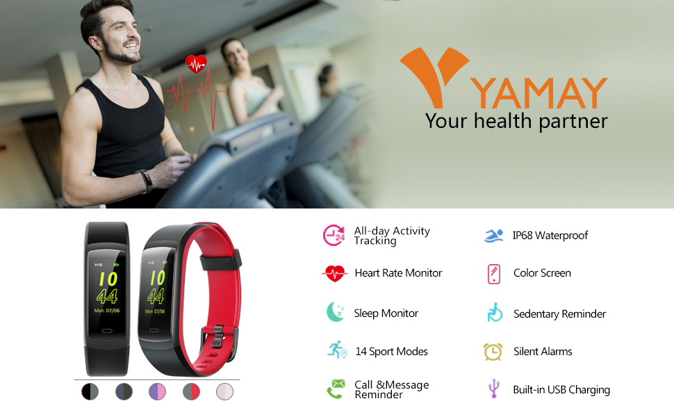 Fitness tracker yamay