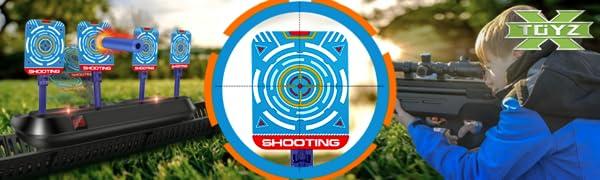 digital targets for nerf guns
