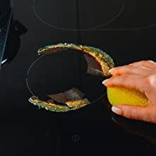 vitroceramic stove top cleaning, kitchen cleaning