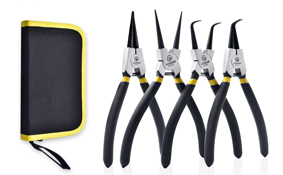 US Made 6 Piece Snap Ring Plier Set