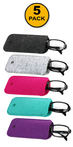 5 Pack Pouch Case