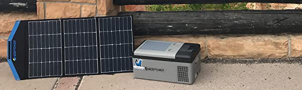 ACOPOWER HY-15A SOLAR FRIDGE FREEZER