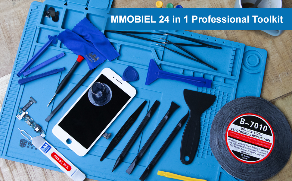 24 in 1 Toolkit, Toolkit, Tools, Smartphone, Repair, Tablet, Computer, Laptop, Screwdrivers, MMOBIEL