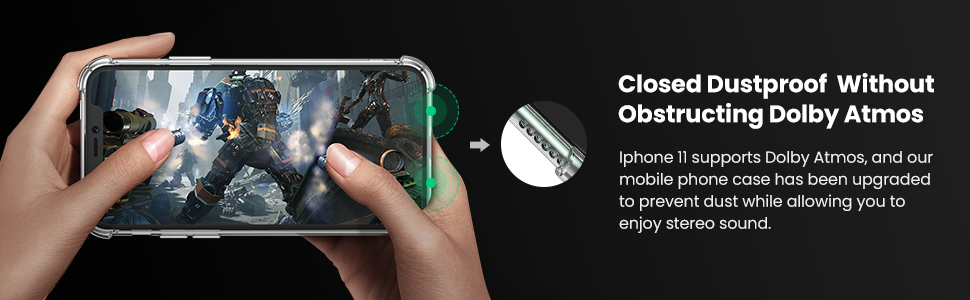 UGREEN Premium Clear Phone Case Offers Full Protection to Your iPhone 11 Pro Max