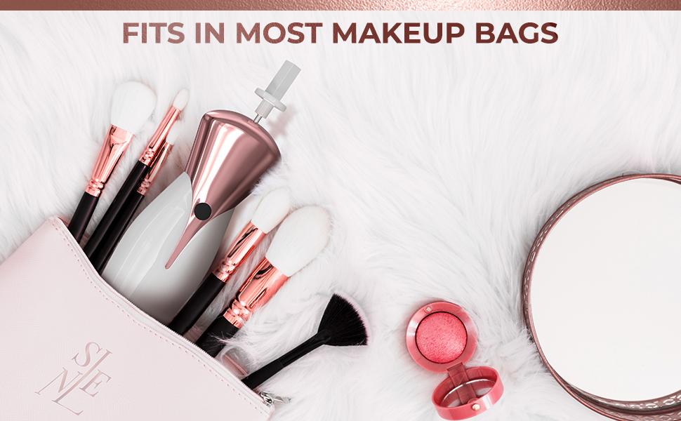 Cosmetic makeup brush cleaner