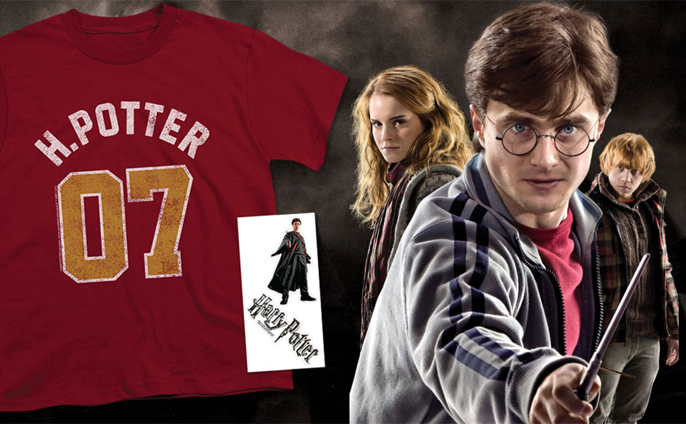 Harry Potter Broom Custom Personalize Birthday Party Favor Gift T-Shirt
