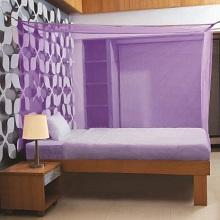 Purple Mosquito Net