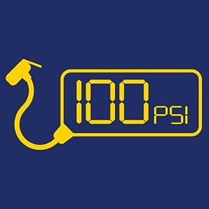 100 PSI max
