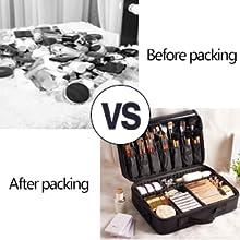 Keep cosmetics neat