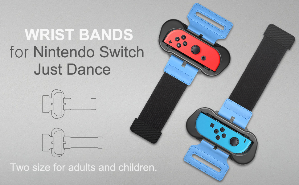 FYOUNG Muñequeras Dance Band para Just Dance 2020 Nintendo Switch ...