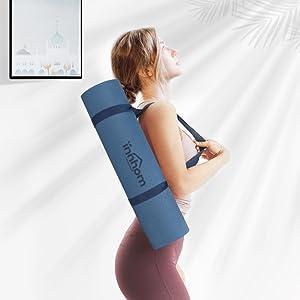 non slip yoga mat excercise mat