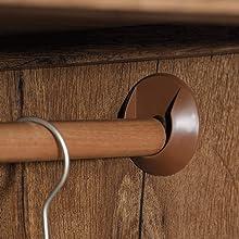 Armoire, Vintage Oak finish