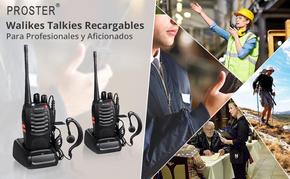 PROSTER walkies talkies