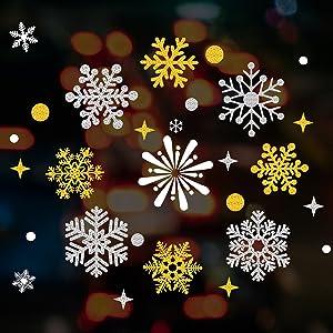 windimiley christmas window film sticker (9)