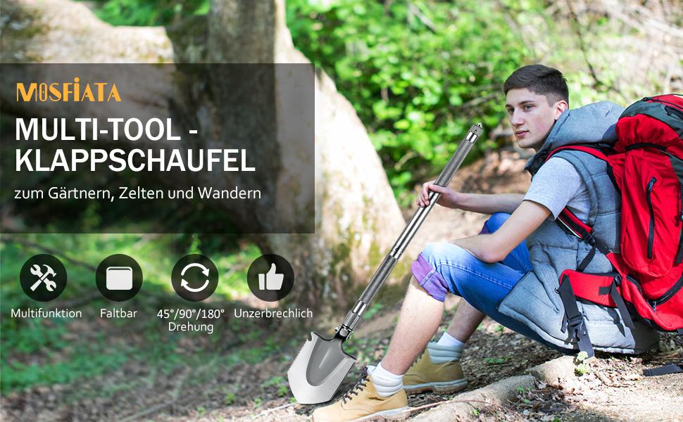 Camping Schaufel