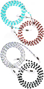 chains for glasses eye glass chain holders glasses string holder eye glasses beaded holder glasses