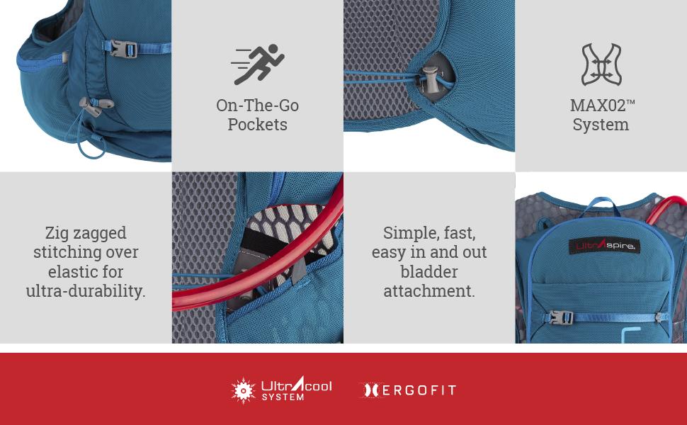 ultraspire zygos 4.0 hydration vest running details