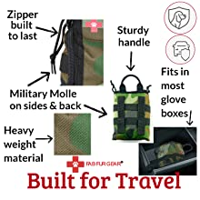 Travel Pet First Aid Kit