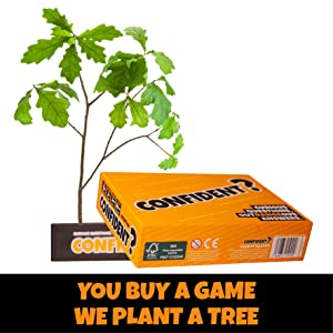 Confident party board game extra info trees for the future you buy a game we plant a tree