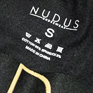 nudus mens trunks boxer briefs sexy undies gay tagless black gift box