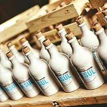 Flaschen Gin Sul