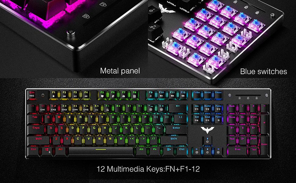 blue switch keyboards
