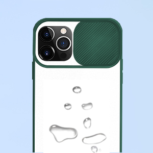 Compatible with iPhone 12  Pro Case with Camera cover