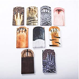 animal paw sock