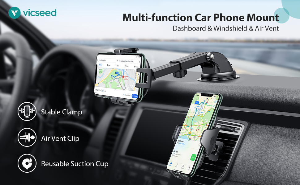 Multi-function Car Phone Mount