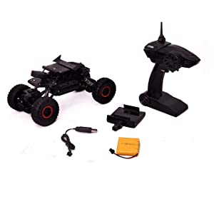 Toyshine 1:18 2.4 Ghz Rock Crawler Remote Car, 4WD, with SPY HD CAMERA, Assorted Color