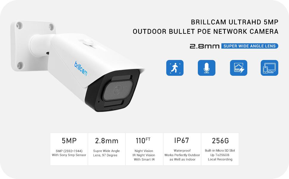 5mp outdoor camera
