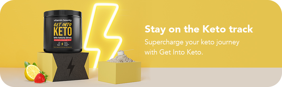 Stay on the keto track. Supercharge your keto journey with Get Into Keto.