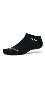 Performance Zero, black socks, socks for running, golf socks, no show socks, run socks