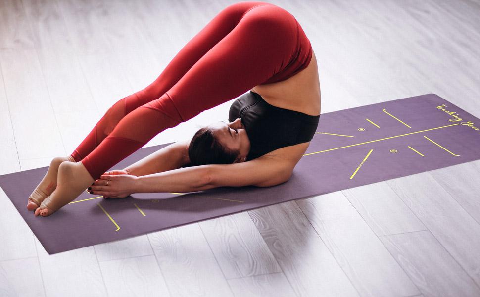 Fitness yogamat draagband asana yoga mat eco yoga mat ontwerp yoga mat kinderen yoga mat
