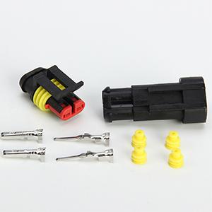 10 Kit 2 Pin Connettore Elettrico Impermeabile per Auto e Camion,VENTCY Connettore Stagno Maschio Femmina 2 vie Set Connettori Elettrici per Auto Camper Moto