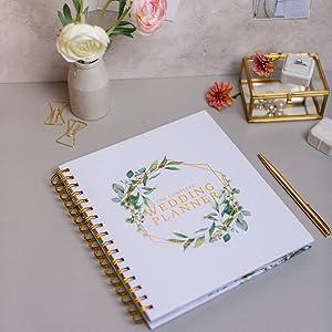 wedding planner diary organiser
