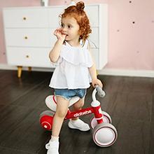 red baby balance bike