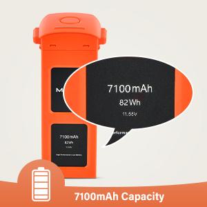 7100mAh large capacity