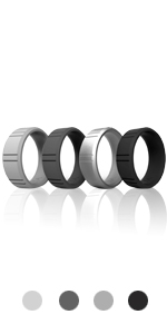 black silicon bands set sports active gym husband alternative couple breakaway cheap hands work