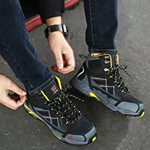 safety shoes steel toe cap larnmern