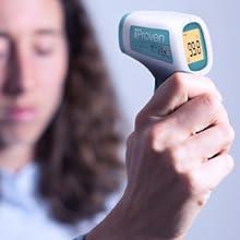 no touch measure temperature thermometer
