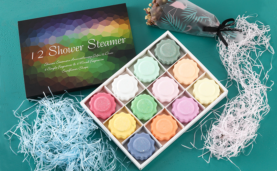 shower bombs relaxation gifts for women spa gifts shower steamers aromatherapy shower bomb