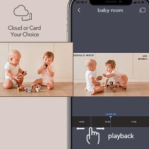 baby monitor with camera motion camera wifi baby monitor